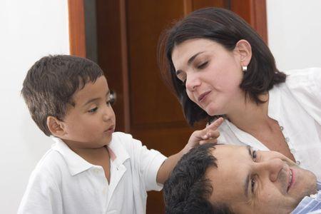 papa y mama: Mam�, Pap� e hijo