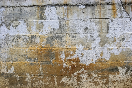 Background of stone wall texture, Weathered Wall Stock Photo - 15820875