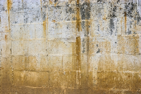 Background of stone wall texture, Weathered Wall Stock Photo - 15820886