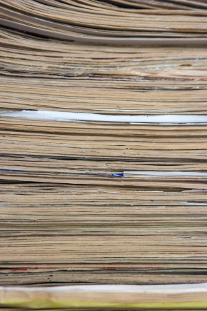 Stack Of Grunge Papers Indoors Stock Photo - 16247415