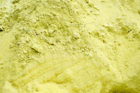 Sulfur Storage Area, Background Texture of Sulphur