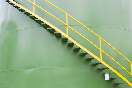 Chemical Industry, Storage Tank In Industrial Plant photo
