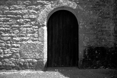 Door arch. Banque d'images - 105332600