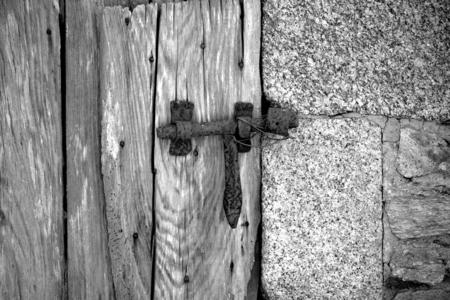 Old door latch.