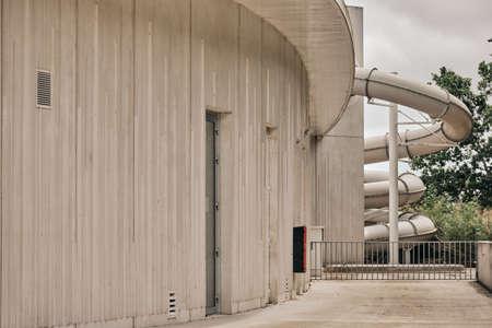 Modern architecture building.