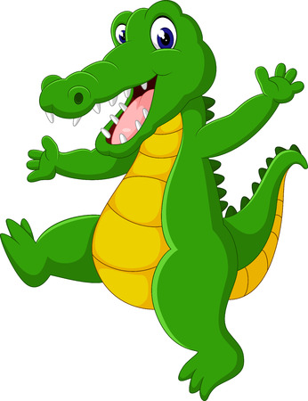 cute Crocodile cartoon of illustration