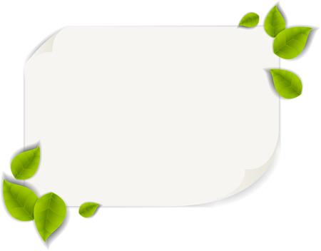 realistic leaf Stock Photo