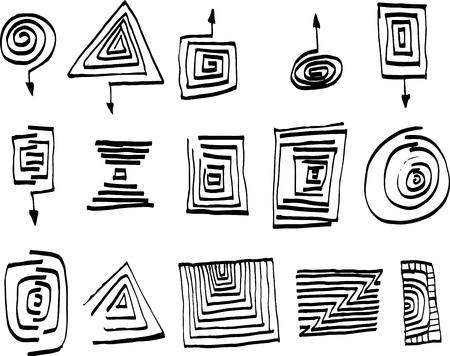 scrawl: Conjunto de selección rectangular, cepillo.