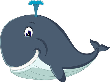 cartooning: Cute killer whale cartoon