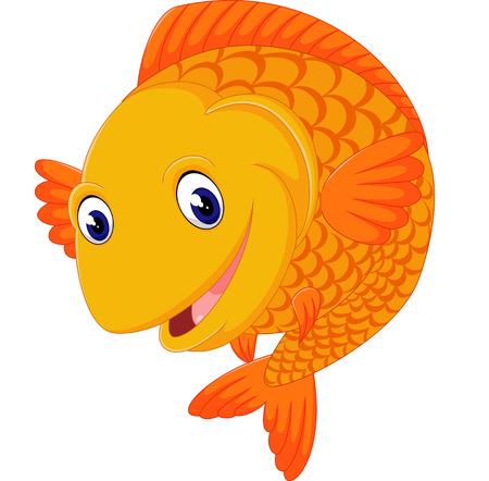 red fish: Cartoon fish