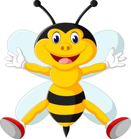 cute bee: cute bee cartoon