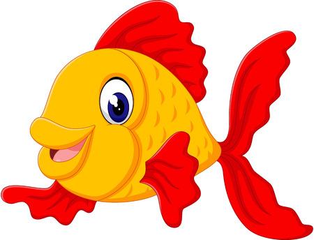 cute fish: Cute fish cartoon Illustration