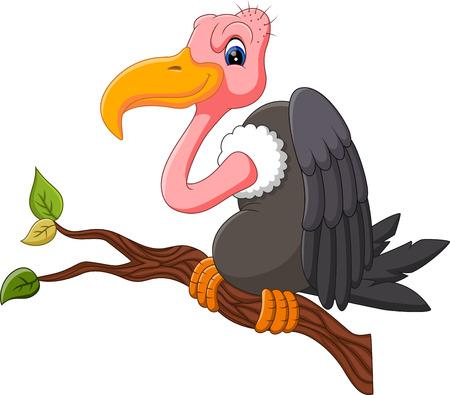 vulture: illustration of Vulture cartoon