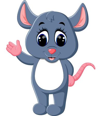 cute mouse: illustration of Cute mouse cartoon