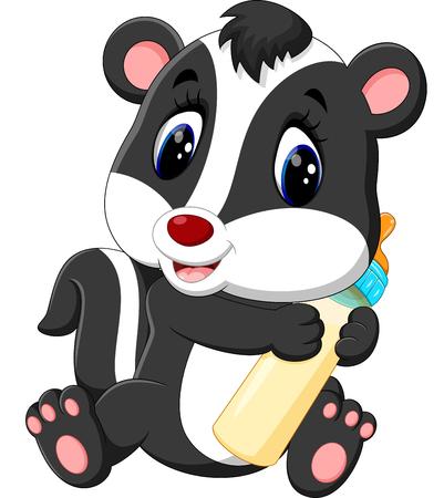stinking: skunk cartoon