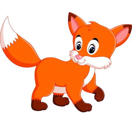 Cute fox cartoon Imagens - 60190245