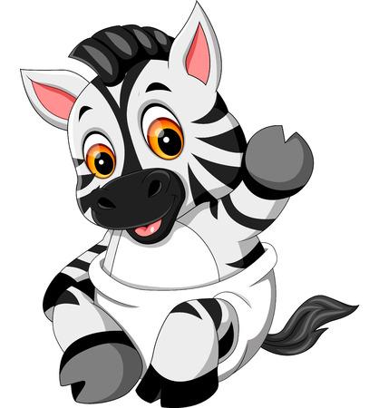 baby zebra cartoon