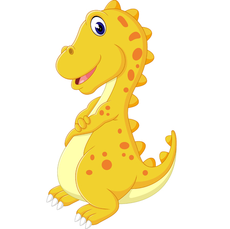 cute dinosaurus cartoon