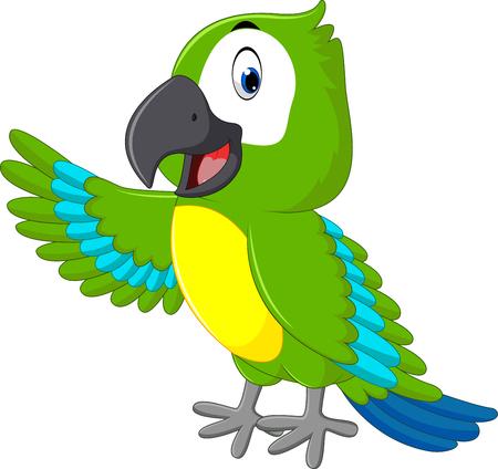 guacamaya: Macaw de la historieta