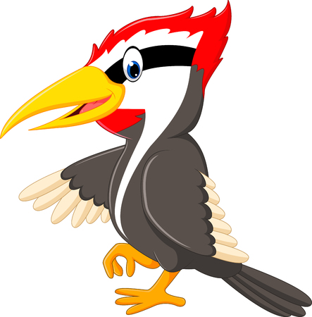 historieta del pájaro pájaro carpintero