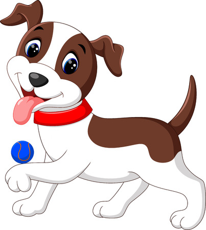 Historieta linda del perro