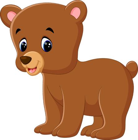 cute bear: Cute bear walking Illustration