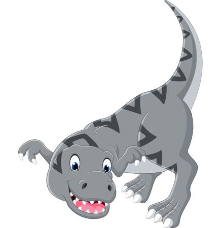 tyrannosaurus: Cartoon tyrannosaurus