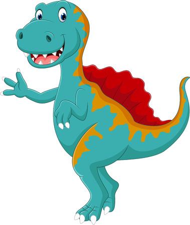 spinosaurus: dinosaur Spinosaurus Stock Photo