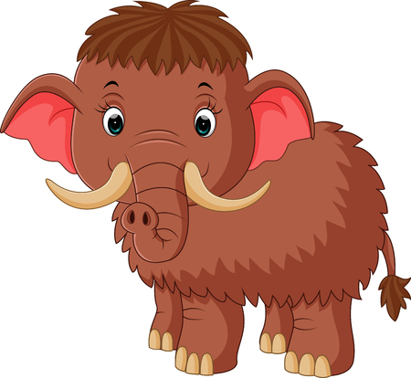 mammoth cartoon
