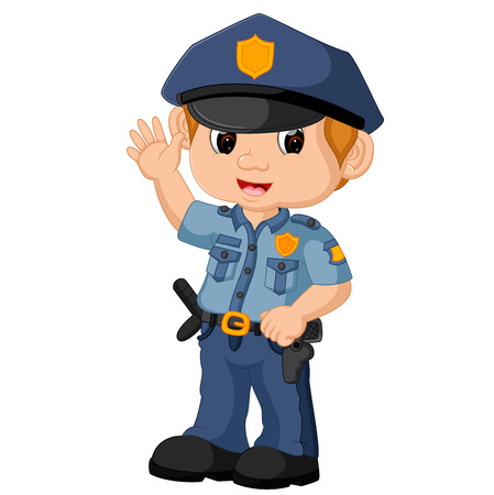 policeman cartoon