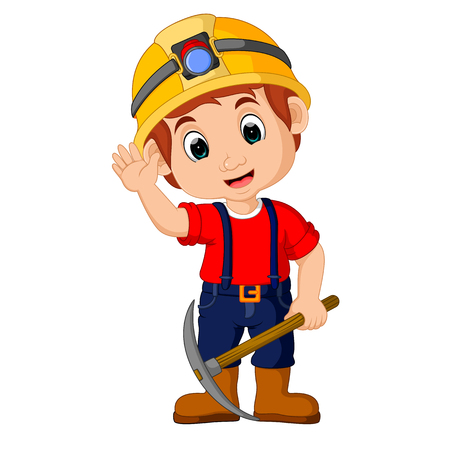 鉱夫の少年漫画