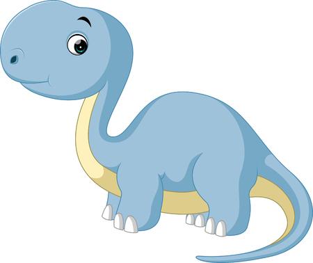 cute dinosaur Stock Photo