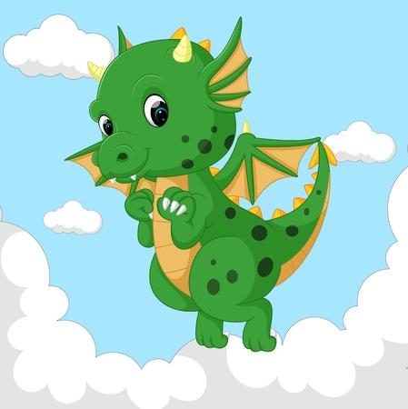 cute dragon fly Stock Photo