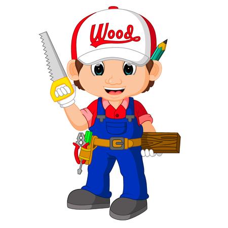 funny carpenter cartoon