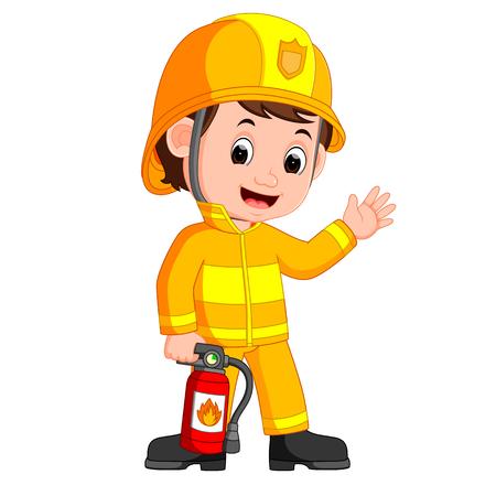Historieta del bombero