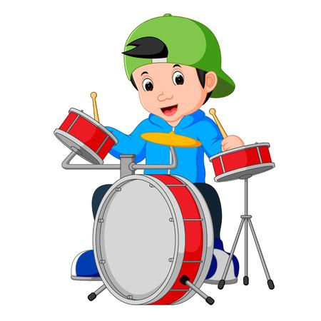 little drummer cartoon