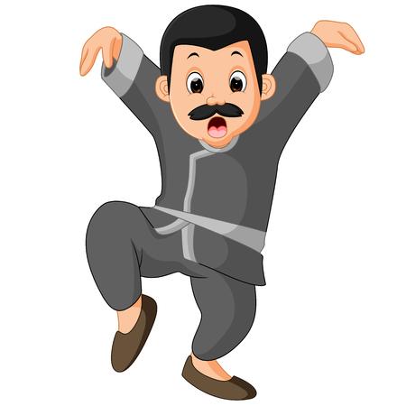 funny kung fu Cartoon