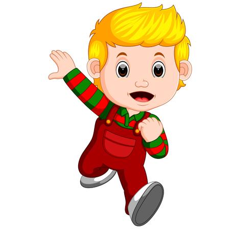 Kid running Stock Photo
