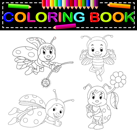 insect coloring book
