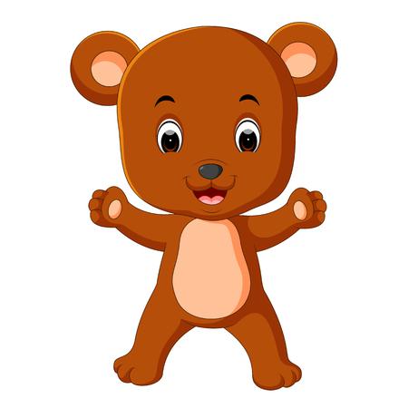 cute bear cartoon