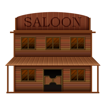 building saloon in western styles Standard-Bild - 103192022