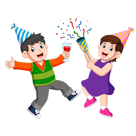 an adults people is celebrating anniversary party with her partner