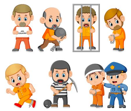 la punition du criminel sur la prison