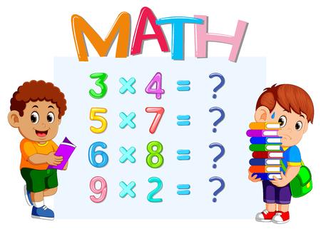 Arkusz liczenia liczb matematycznych