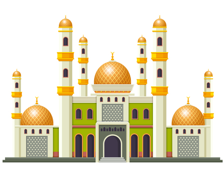 the beautiful mosque with the good design