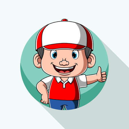 The animation of the excellent delivery service for the logo inspiration 版權商用圖片 - 156776561