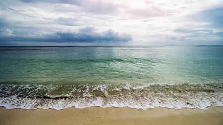Beautiful Tropical Beach, Clear Sea Water