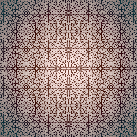Islamic Geometric Pattern, Islamic Geometric Background Illustration