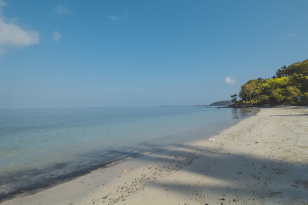 White Sand, Clear Sea Water and Tropical Beach Landscape 写真素材