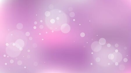 Abstract Bokeh background with dot elements. This modern minimalist-themed background is suitable for wallpaper, banners, posters and website landing pages. Vektorové ilustrace